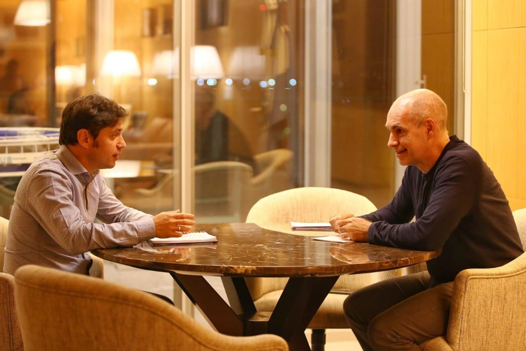 Rodríguez Larreta viaja mañana a La Plata para hablar con Kicillof