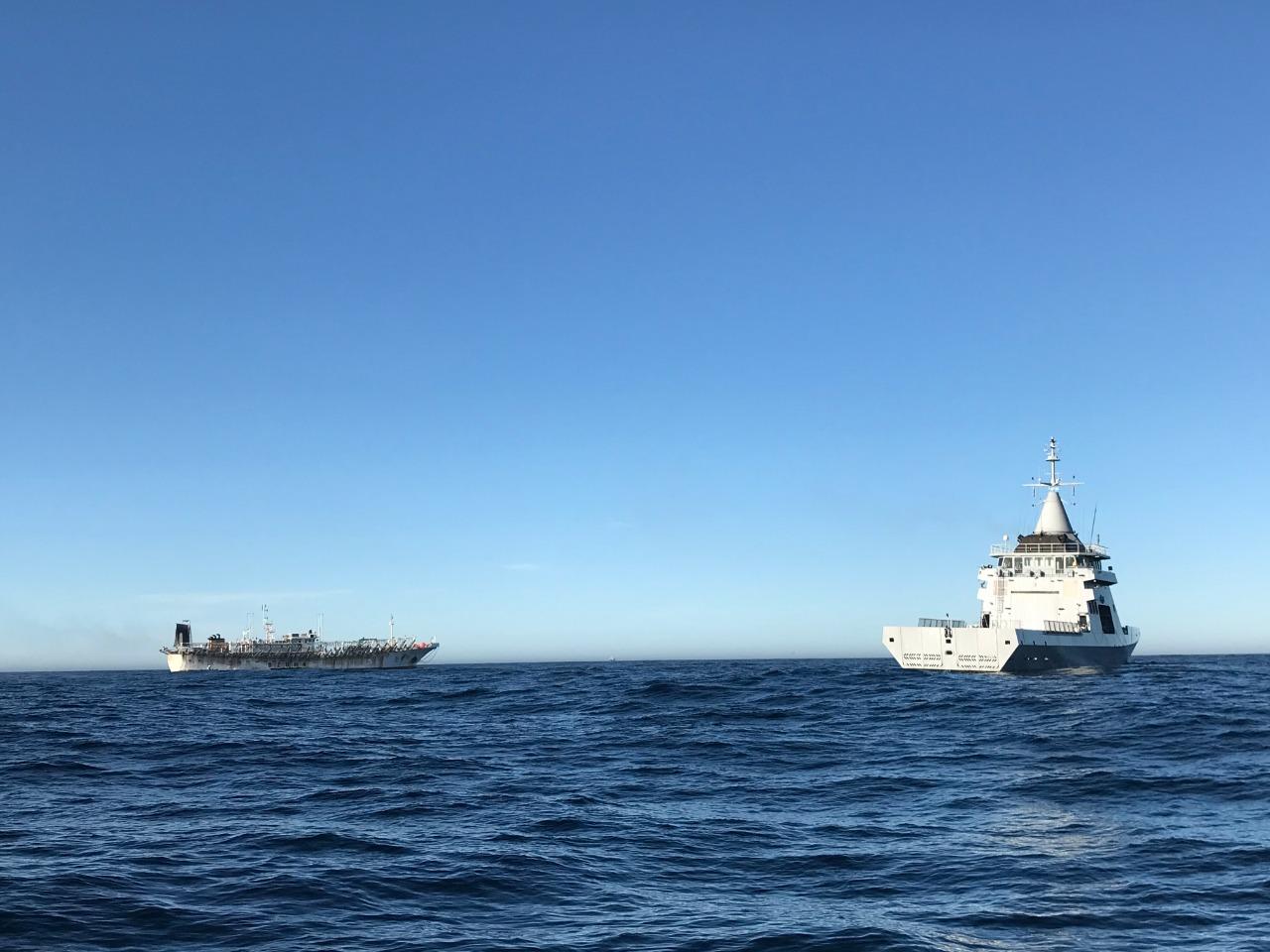 Llegó otro barco desde China con insumos