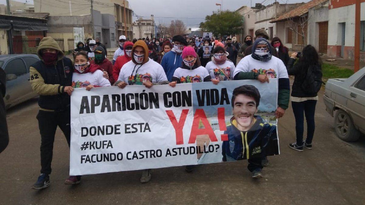 Tercer día de rastrillajes en busca de Facundo Astudillo sin novedades