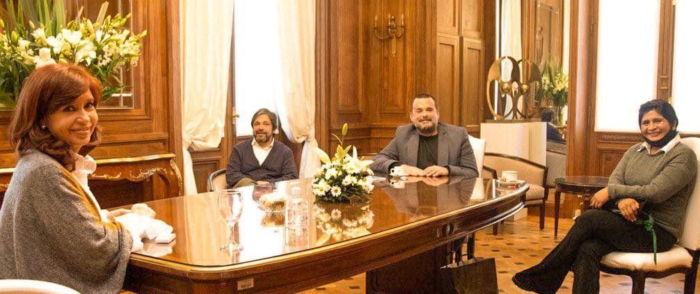 Cristina Fernández se reunión con Daniel Menendez