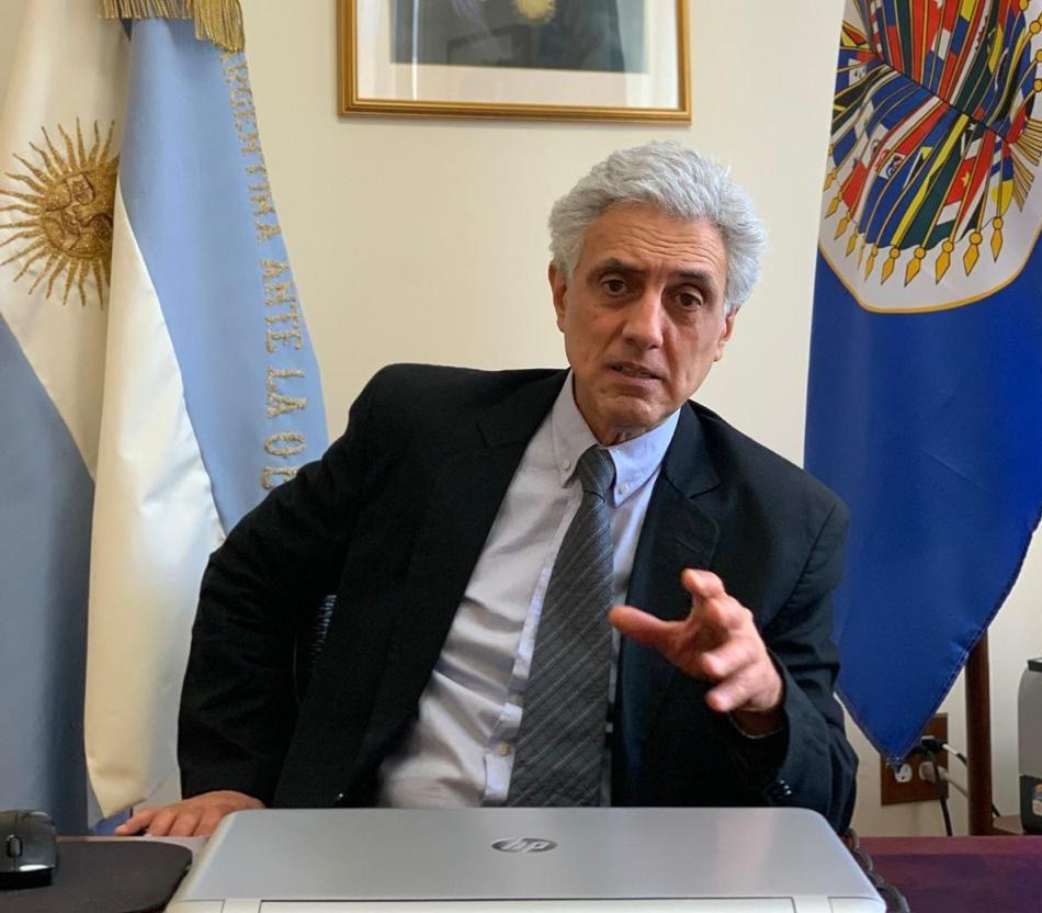 Carlos Raimundi presentó sus cartas credenciales como Embajador argentino ante la OEA