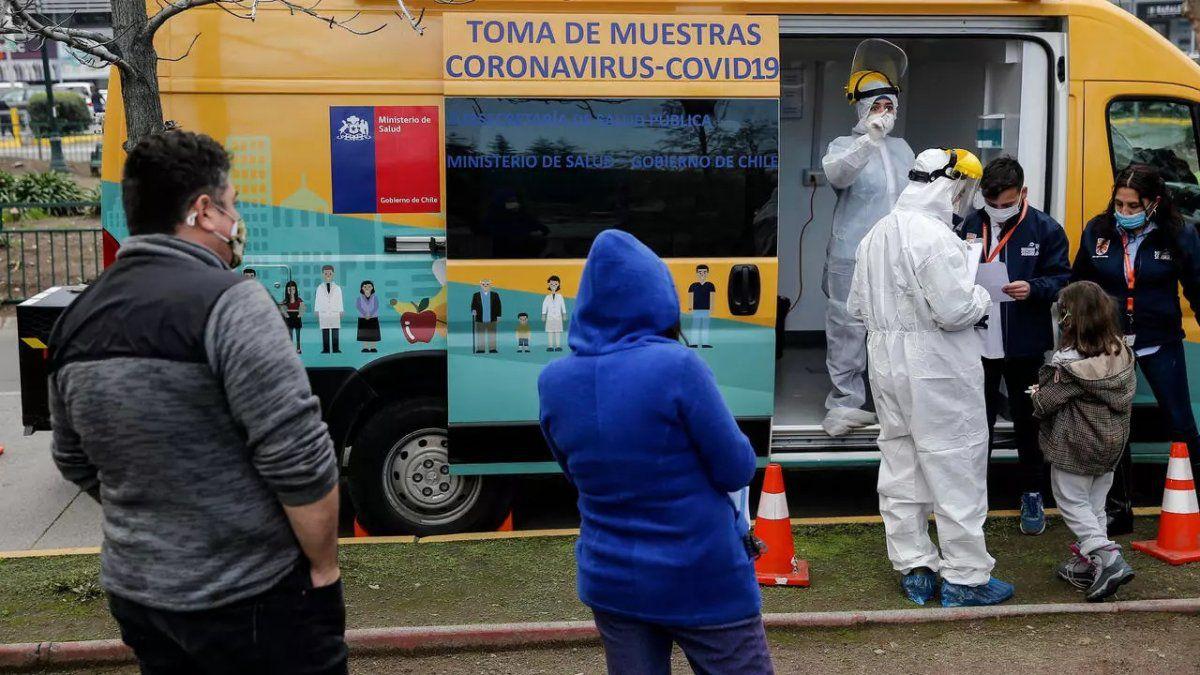 Chile reducirá periodo de aislamiento a pacientes con coronavirus