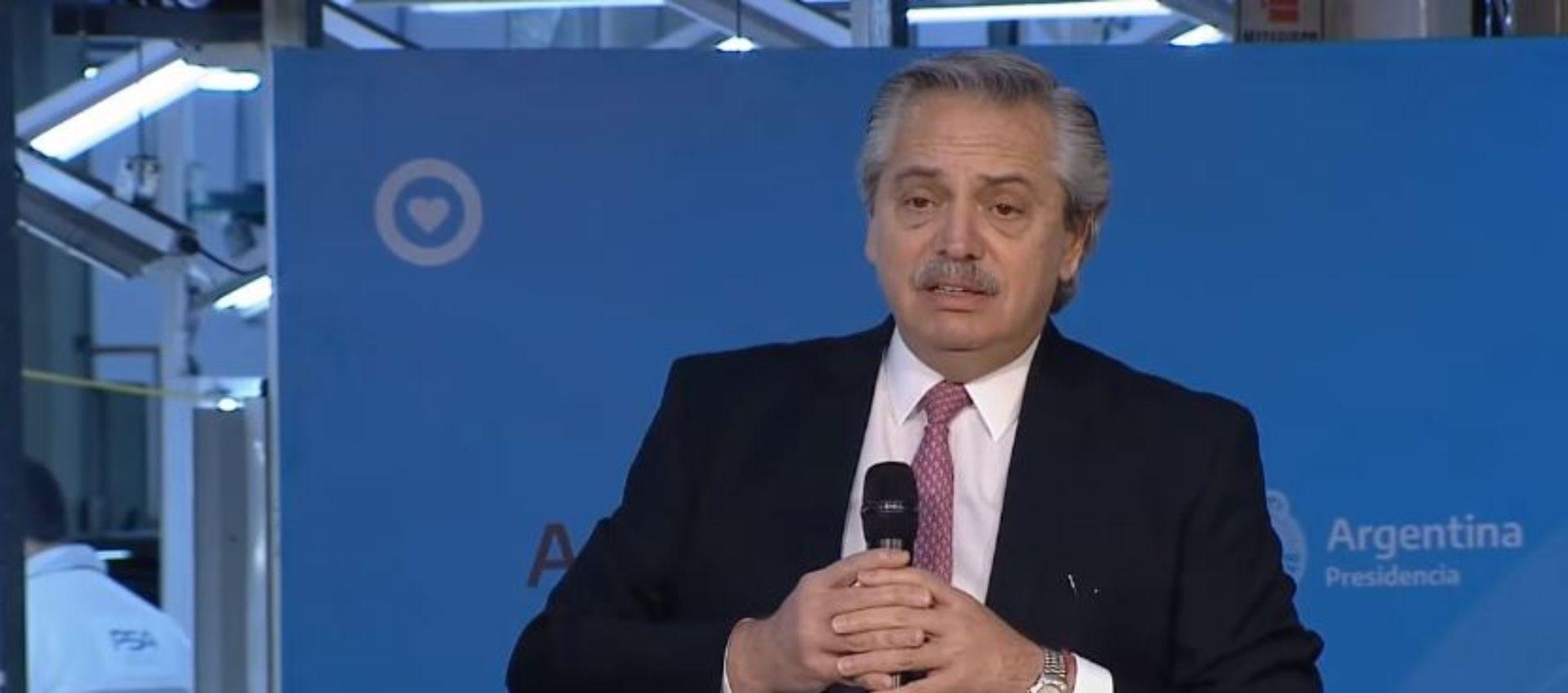 Alberto Fernández viajará mañana a San Juan para recorrer obras públicas