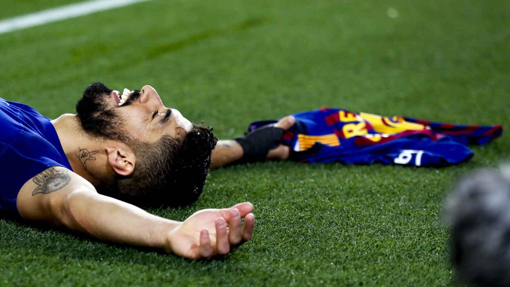 Suárez se despide del Barcelona con un mensaje de apoyo a Messi