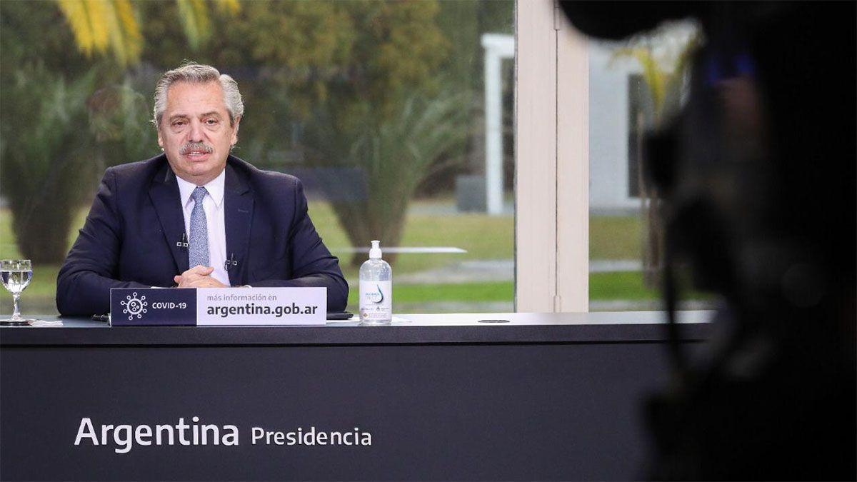 Fernández: «Los problemas continúan y es necesario seguir con los cuidados»