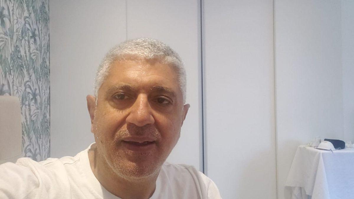 La dura lucha de Carlos Broitman contra el coronavirus