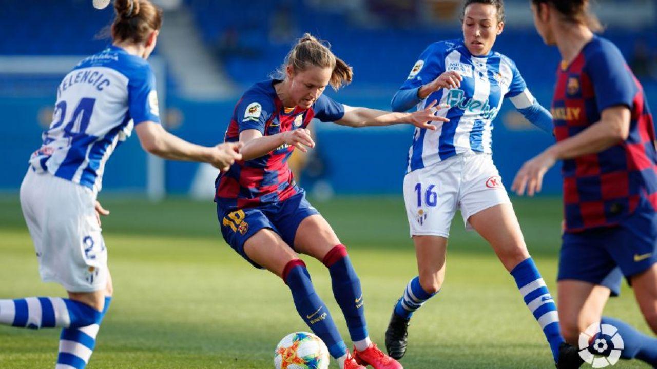 La Liga española de fútbol femenino 2021/22 será profesional