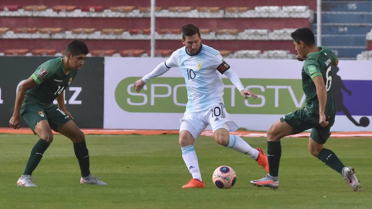 La Selección Argentina le ganó a Bolivia en la altura de La Paz