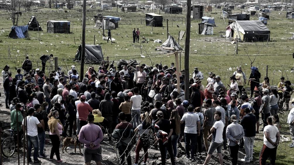 Desalojo violento en Guernica, varios detenidos y heridos