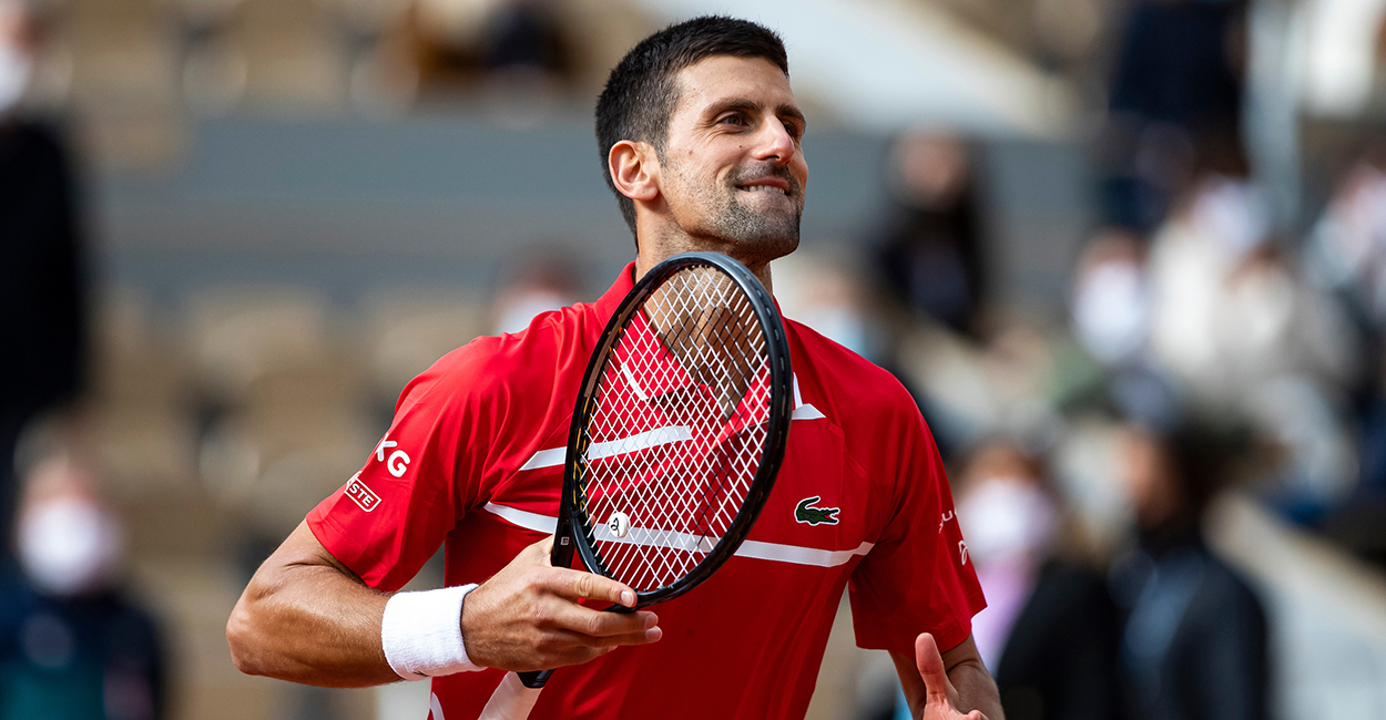 Djokovic avanzó a cuartos de final de Roland Garros por undécima vez consecutiva