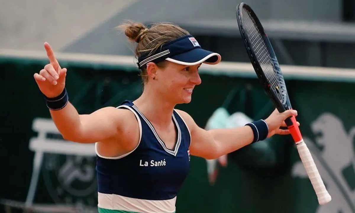 La «Peque» Podoroska avanza a las semifinales de Roland Garros