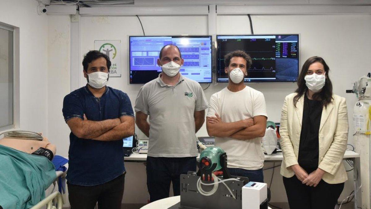 La Anmat aprobó un respirador mecánico diseñado en Santa Fe