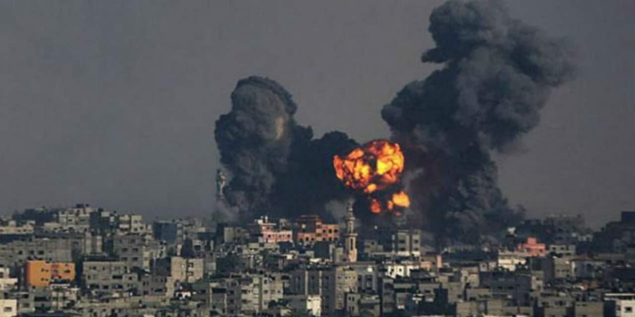 Israel bombardea posiciones de Hamas