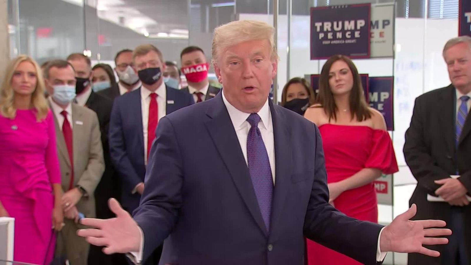 Trump piensa asistir a un acto para denunciar fraude