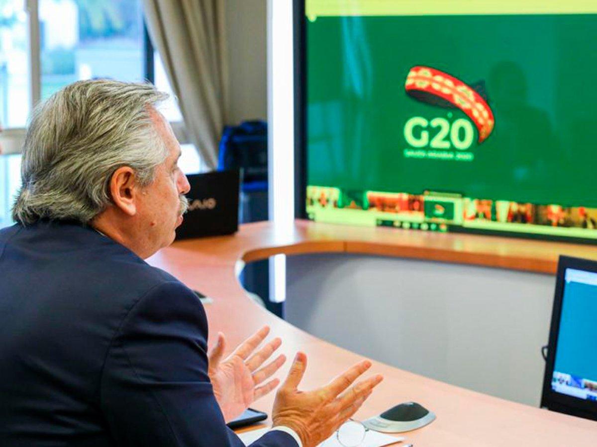 Las propuestas de Fernández para el G20
