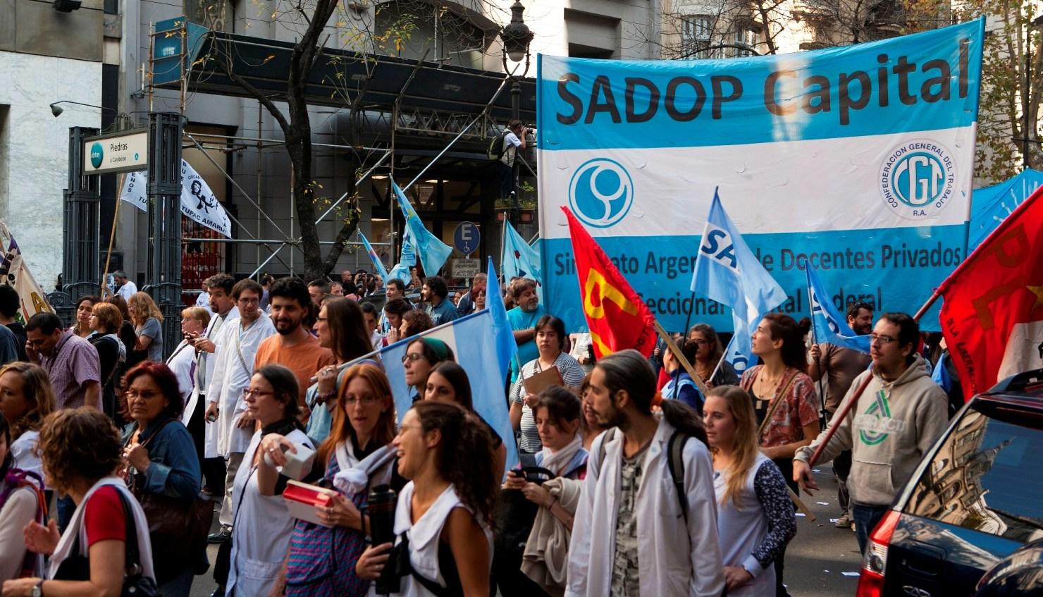 El Sadop Capital rechazó el protocolo para volver a las escuelas