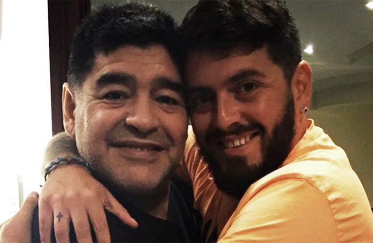 De Diego Jr. a Diego: «Capitán de mi corazón, nunca vas a morir»