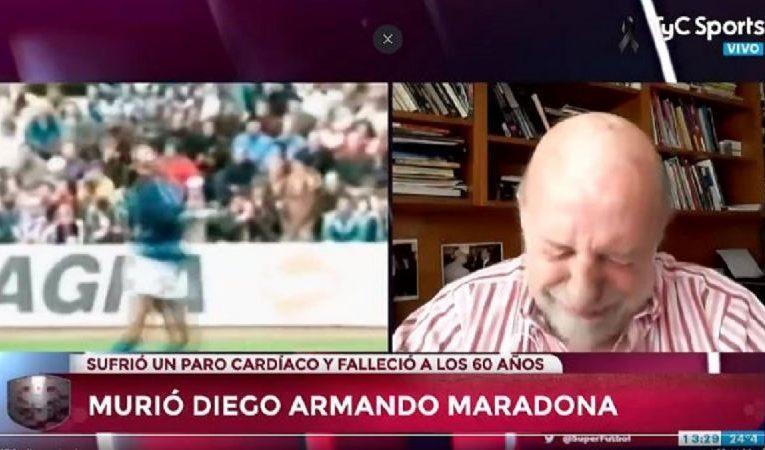 El llanto de Pagani: «Murió el fútbol»