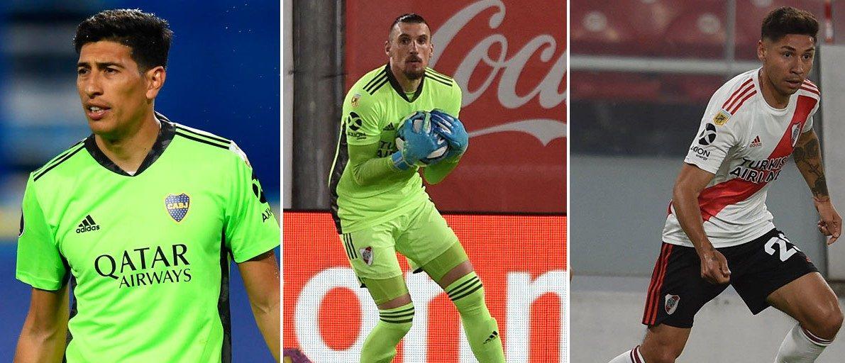 Andrada, Armani y Montiel se suman al seleccionado argentino