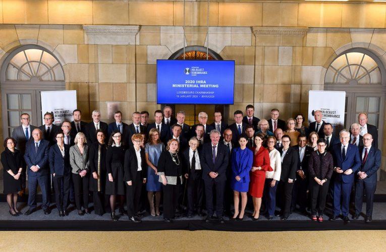 Holocausto: el Gobierno ratifica su compromiso con la política de «memoria»