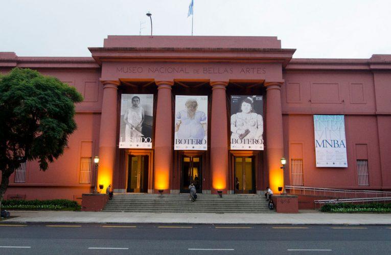 El Museo Nacional de Bellas Artes cierra una semana