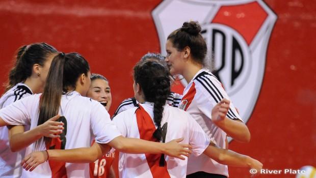 River Plate suma segundo triunfo en la Liga Femenina de vóleibol
