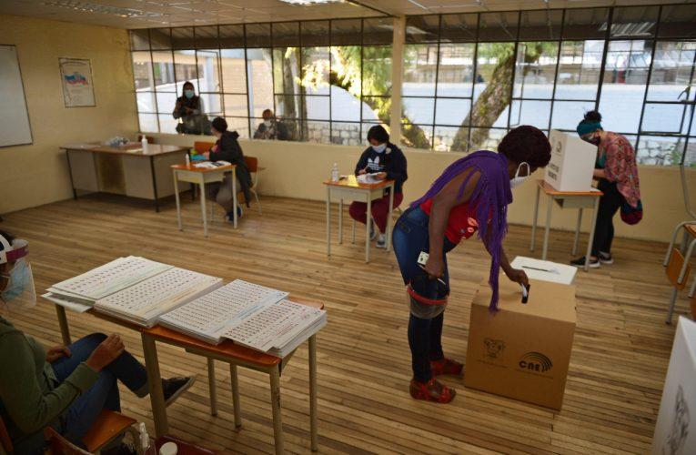 El correísmo ganó las elecciones, pero habrá balotaje, según el conteo rápido oficial en Ecuador