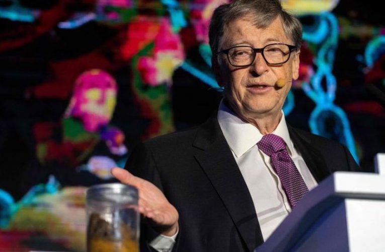 «El cambio climático es más difícil de resolver que una pandemia», aseguró Bill Gates