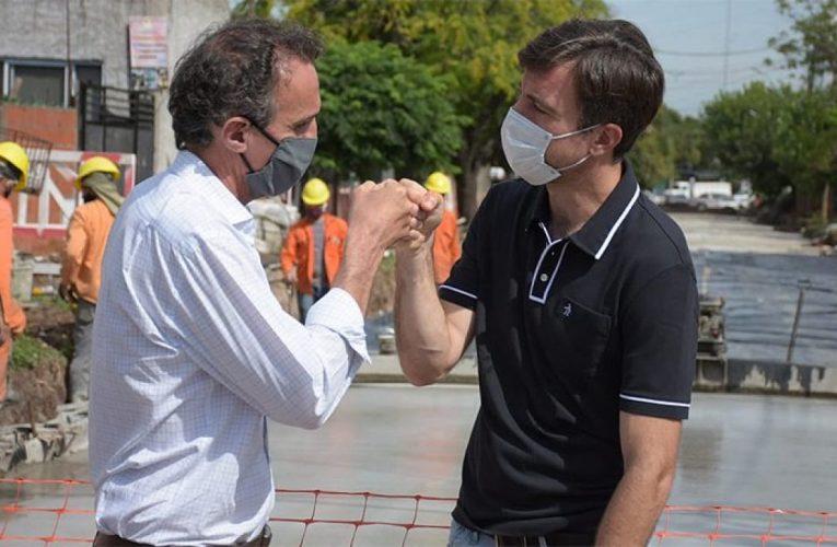 Katopodis recorrió obras en ejecución en los partidos de Escobar y Malvinas Argentinas