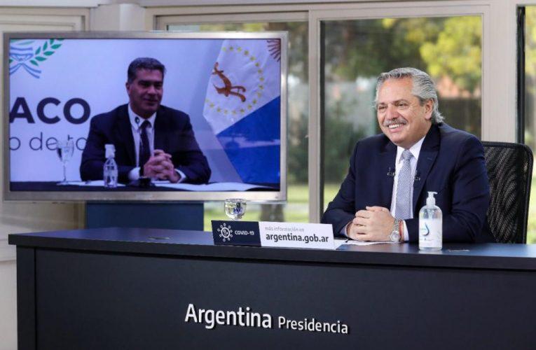 El Presidente rubricó con Capitanich inversión de 19 millones de dólares en Chaco