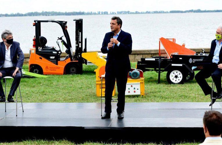 Massa sostuvo en Chascomús que «ecología y crecimiento económico deben ir juntos»
