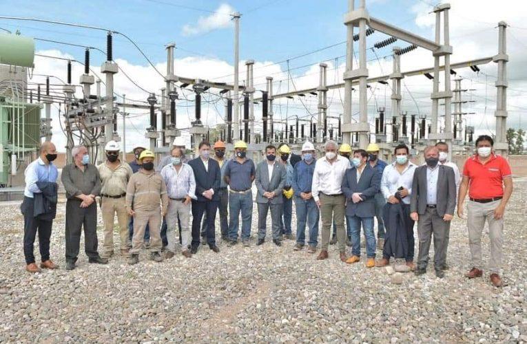 Salta: Darío Martínez puso en marcha una nueva estación transformadora en Pichanal