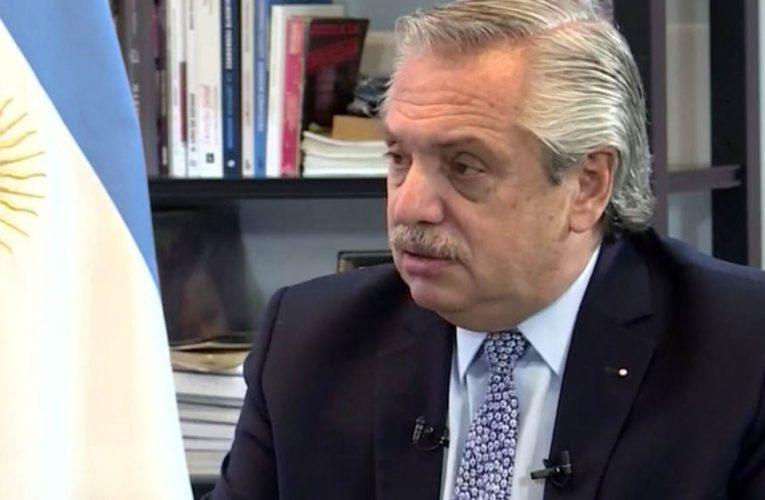 Fernández reiteró que «nunca se interrumpió la negociación con Pfizer»