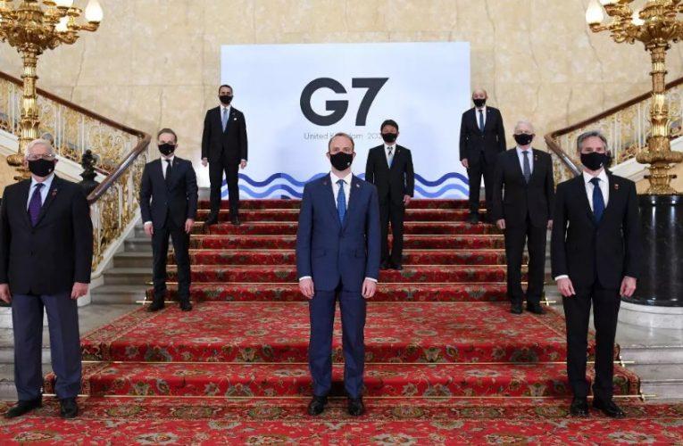 Coronavirus y vacunación mundial en la primera reunión presencial del G7