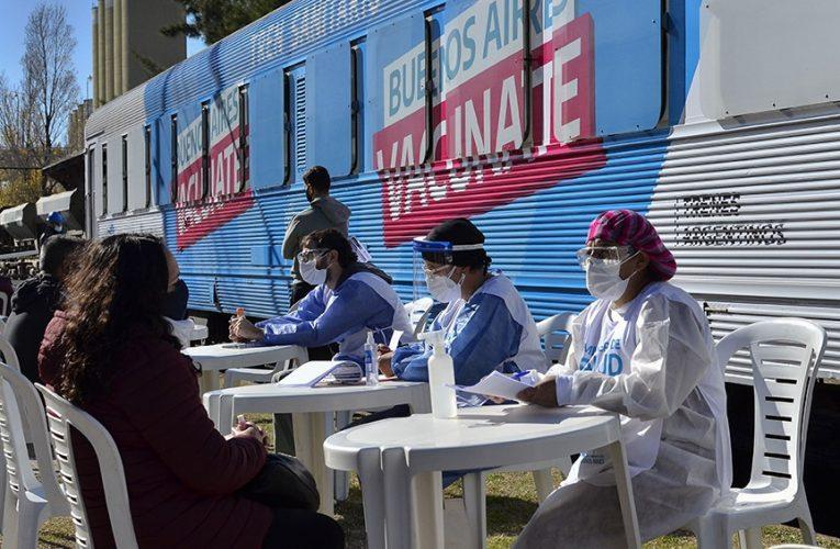 El gobernador Kicillof destacó que son más de 4 millones y medio los bonaerenses vacunados