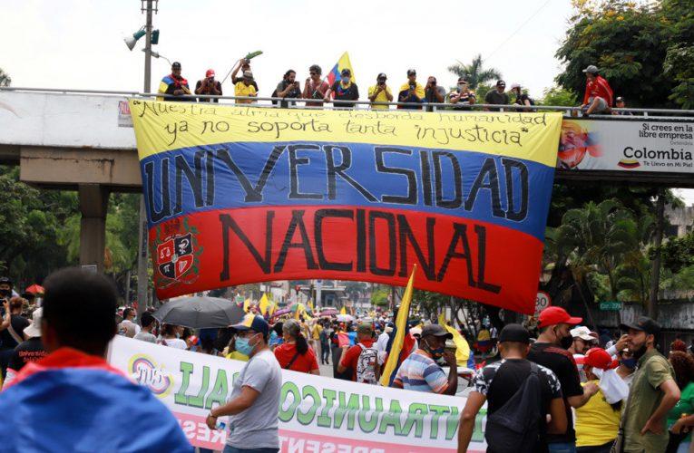 Comité de Paro en Colombia anuncia suspensión temporal de movilizaciones