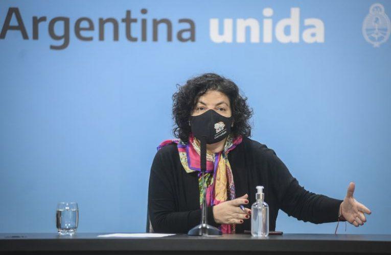 «Ni Pfizer pidió los glaciares ni el Gobierno pidió coimas», afirmó la ministra Vizzotti