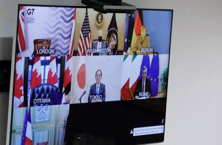 Primer G7 de Biden: vacunas del coronavirus y fiscalidad global, al tope de la agenda