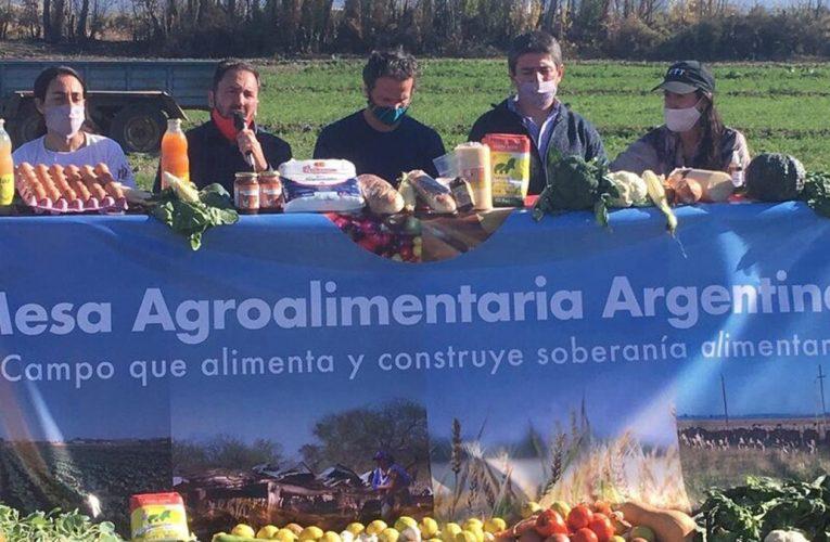 Productores y cooperativistas lanzaron la Mesa Agroalimentaria Argentina