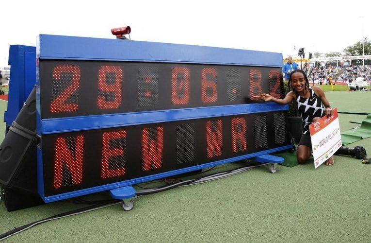 La neerlandesa Stifan Hassan estableció nuevo récord mundial de los 10 mil metros