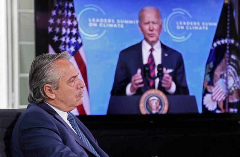 Biden le envió una carta de agradecimiento a Alberto Fernández