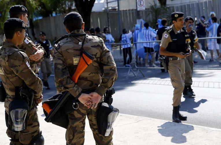 La Policía de Minas Gerais justificó los gases en el vestuario contra Boca