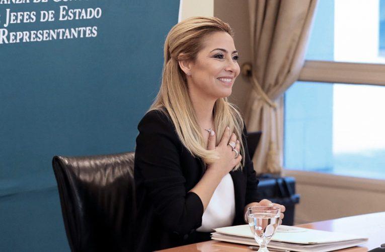 Fabiola Yañez habló de la «igualdad de género y el empoderamiento de mujeres como herramienta fundamental para la reducción de la pobreza»