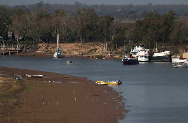 Río Paraná: el Gobierno declaró la emergencia hídrica por 180 días