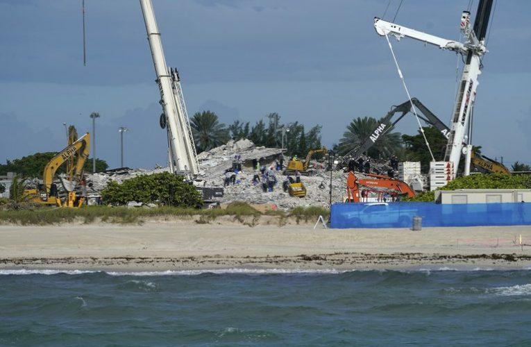 Derrumbe en Miami: las víctimas y familiares de los fallecidos recibirán 150 millones de dólares en compensación