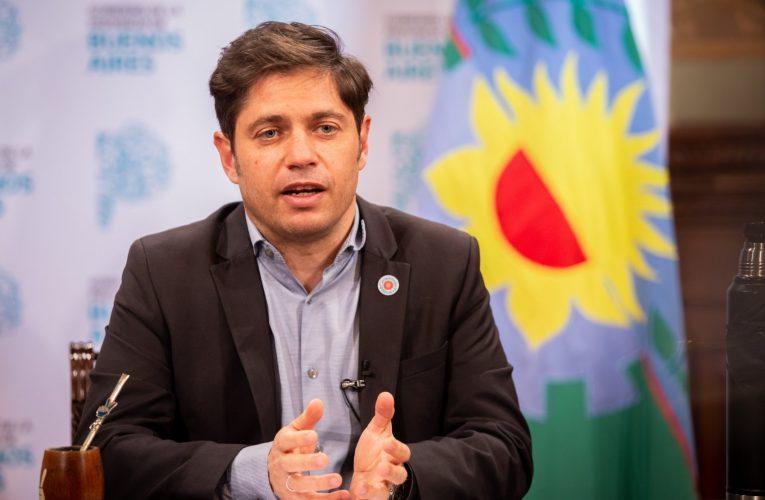 Kicillof: «Pusimos en marcha 13 licitaciones de obras de vialidad y saneamiento»