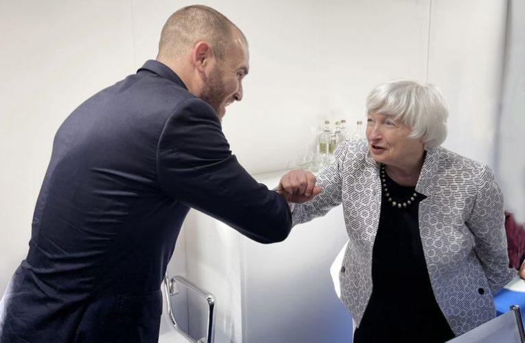 Sábado de reuniones clave entre Guzmán y autoridades del FMI