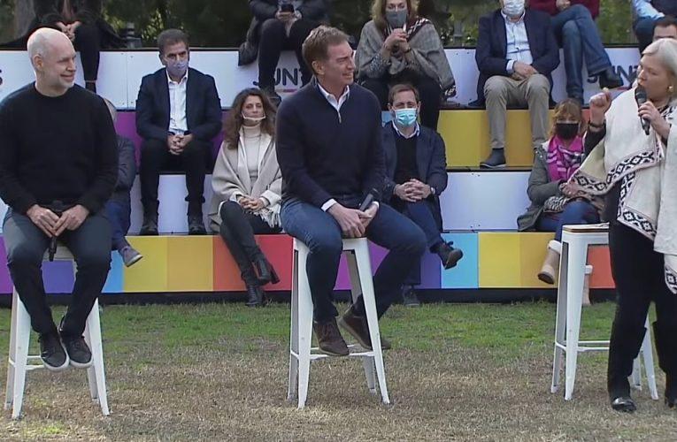 Juntos, sin Macri ni Vidal: Santilli lanzó su candidatura en Provincia