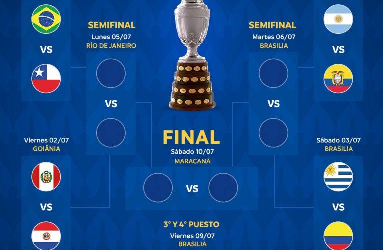 Copa América: Con Perú y Brasil clasificados, los partidos que se vienen
