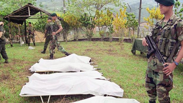 Conflicto en Colombia: al menos 180 cadáveres sin nombre